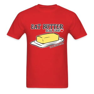 Eat Butter: Real Food Love [Men's Standard Tee] - Men's T-Shirt