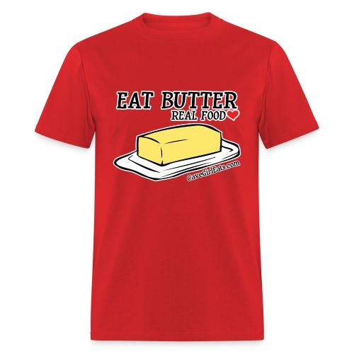Eat Butter: Real Food Love [Men's Standard Tee] - Men's T-Shirt