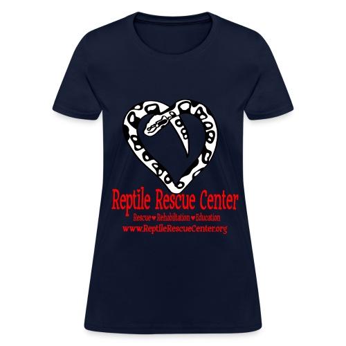 Reptile Rescue Center T-Shirt (Womens) - Women's T-Shirt
