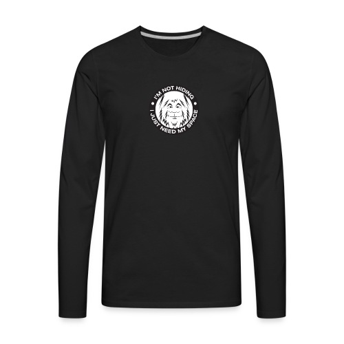 Not Hiding - Men's Premium Long Sleeve T-Shirt