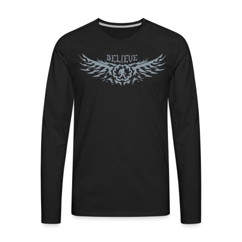 Believe - Men's Premium Long Sleeve T-Shirt