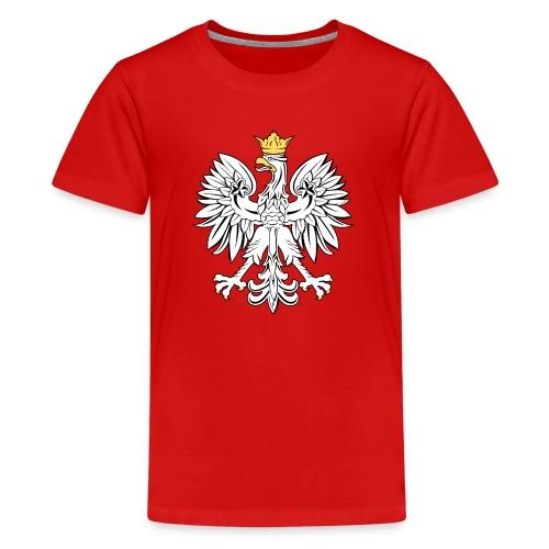 Kids Polish Eagle T-Shirt - Kids' Premium T-Shirt