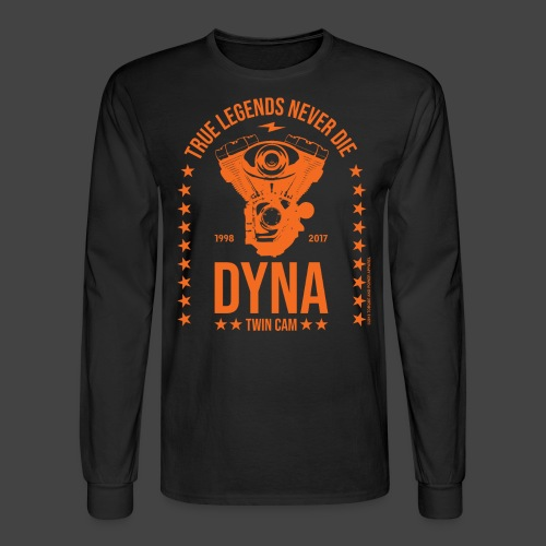 DYNA TWIN CAM - FACTORY - Men's Long Sleeve T-Shirt