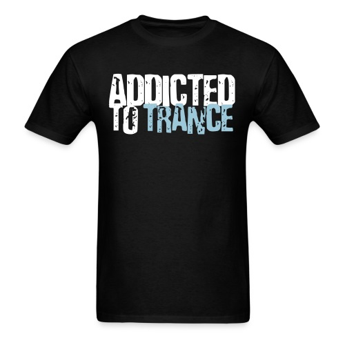 Addicted to trance shirt 1 print - Men's T-Shirt