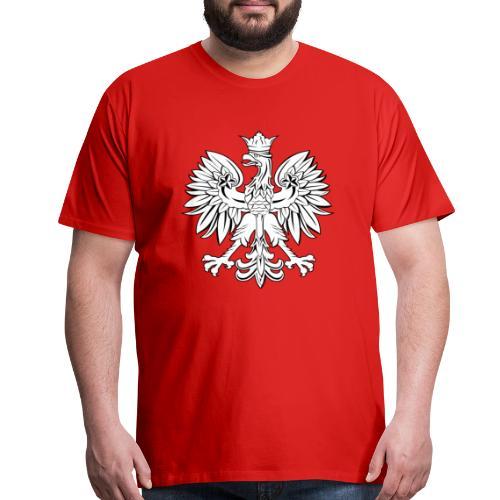 Mens Polish Eagle T-Shirt - Men's Premium T-Shirt