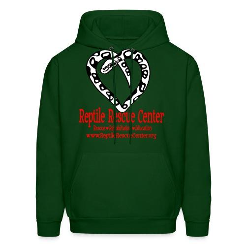 Reptile Rescue Center Hoodie (Mens) - Men's Hoodie