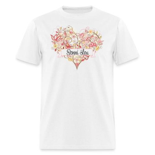 heart men's t-shirt - Men's T-Shirt