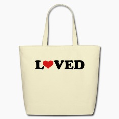 Loved heart Bags