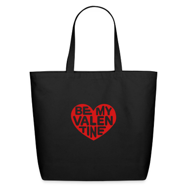 Be my valentine heart Bags