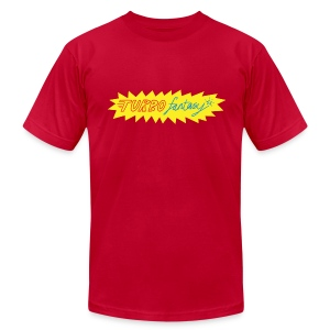 Turbo Fantasy - Turbo logo - Men's T-Shirt by American Apparel