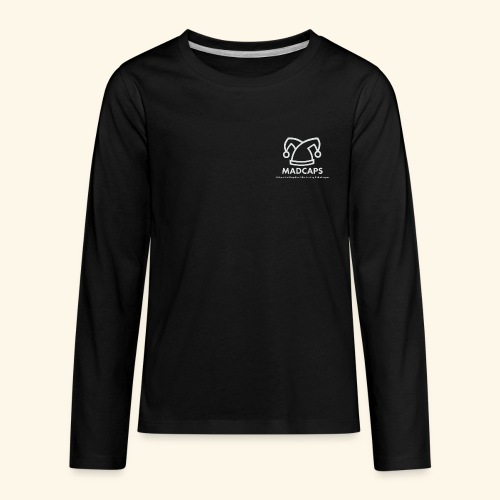 Girls Volunteering Long-Sleeve t-shirt - Kids' Premium Long Sleeve T-Shirt