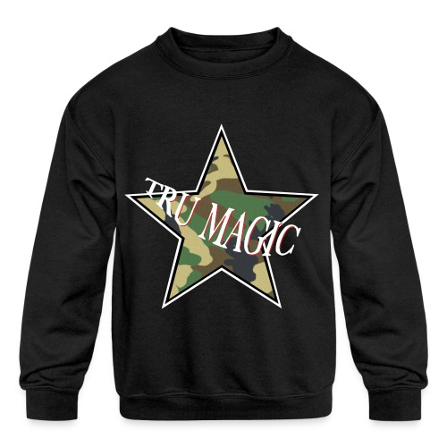Camo Kids - Kids' Crewneck Sweatshirt