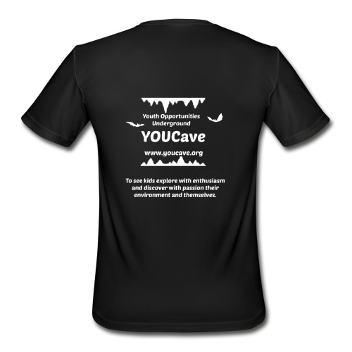 YOUCave Mission Statement - Men's Moisture Wicking Performance T-Shirt