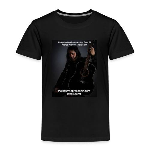 Always Believe Nate Guitar Men's TShirt - Toddler Premium T-Shirt