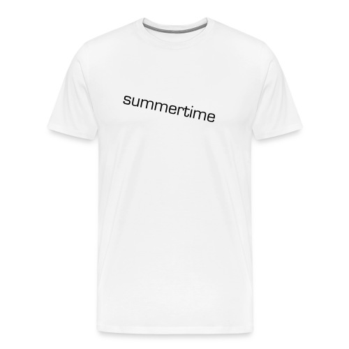 Summer time - Men's Premium T-Shirt