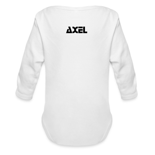 axel - Organic Long Sleeve Baby Bodysuit