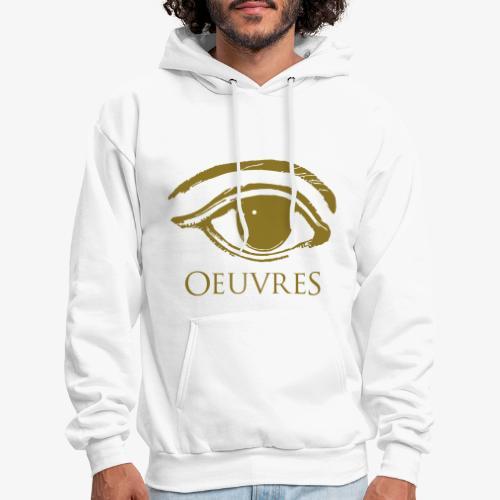 Oeuvres Perspective Eye Hoodie Gold - Men's Hoodie