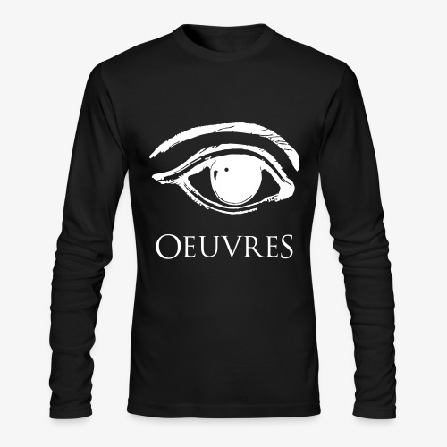 Oeuvres Perspective Eye Long Sleeve Shirt - Men's Long Sleeve T-Shirt by Next Level
