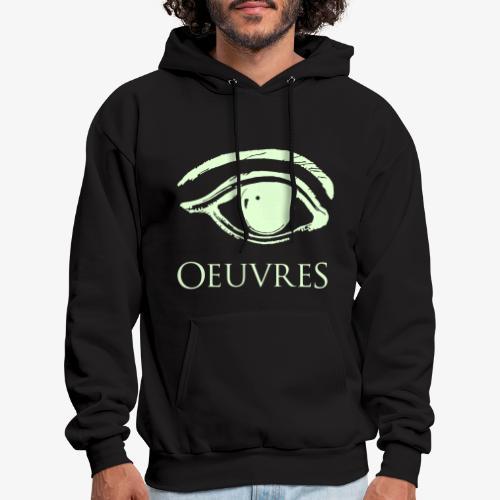 Oeuvres Illuminated Perspective Eye Hoodie - Men's Hoodie