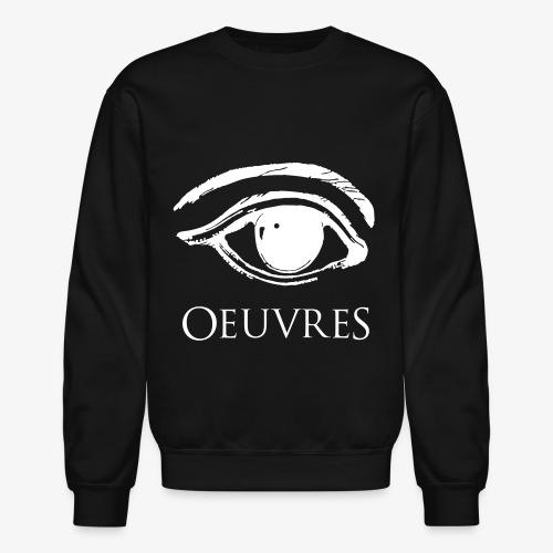 Oeuvres Perspective Eye Crew neck  - Crewneck Sweatshirt