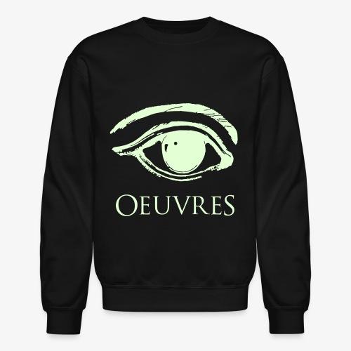 Oeuvres illuminated Perspective eye Crewneck - Crewneck Sweatshirt
