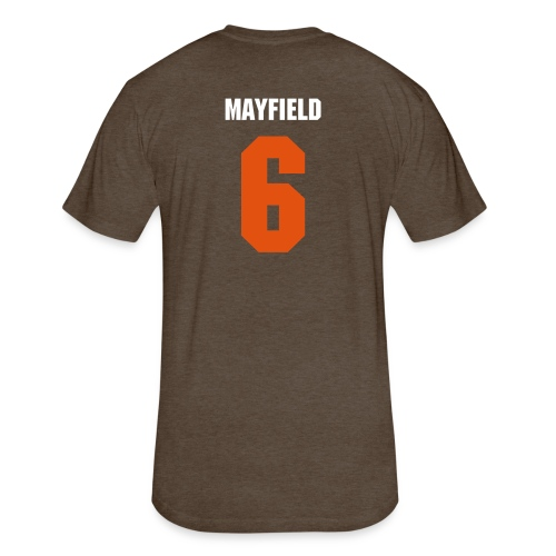 Believe in Mayfield - Fitted Cotton/Poly T-Shirt by Next Level