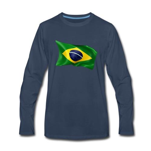Brazil - Men's Premium Long Sleeve T-Shirt