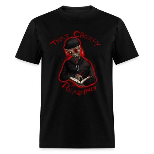 That Creepy Reading Original Design  - Men's T-Shirt