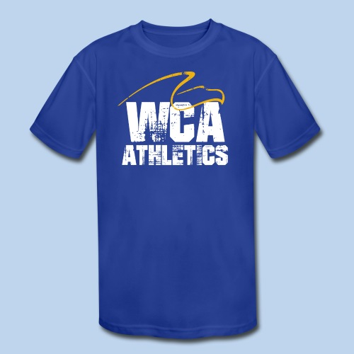 WCA athletics basic kid's Moisture Wicking Performance T-Shirt - Kids' Moisture Wicking Performance T-Shirt