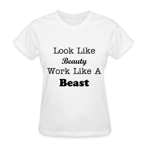 Beauty & The Beast  - Women's T-Shirt