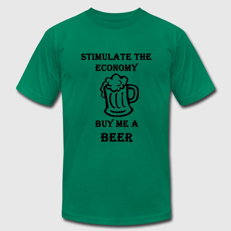 Buy me a BEER T-Shirts - Men's T-Shirt by American Apparel