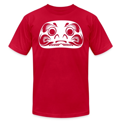 1 color Daruma - Men's Fine Jersey T-Shirt