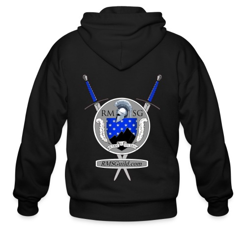 RMSG Arms & Swords - Men's zipper hoodie - Men's Zip Hoodie