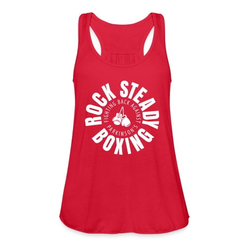 Tank Round Logo - Women's Flowy Tank Top by Bella