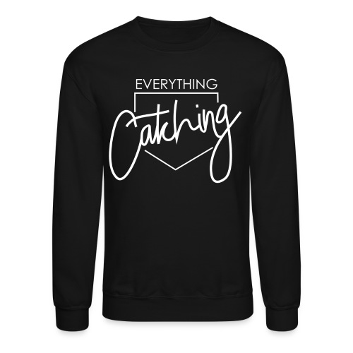 Everything Catching Crewneck Sweatshirt Navy - Crewneck Sweatshirt