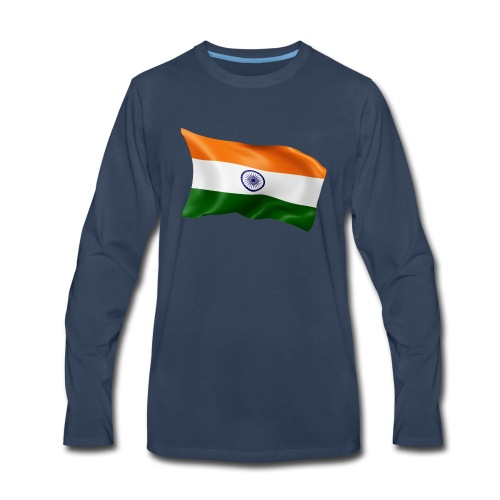 India - Men's Premium Long Sleeve T-Shirt