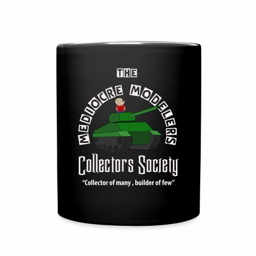 Mediocre Modelers Collectors society MUG - Full Color Mug
