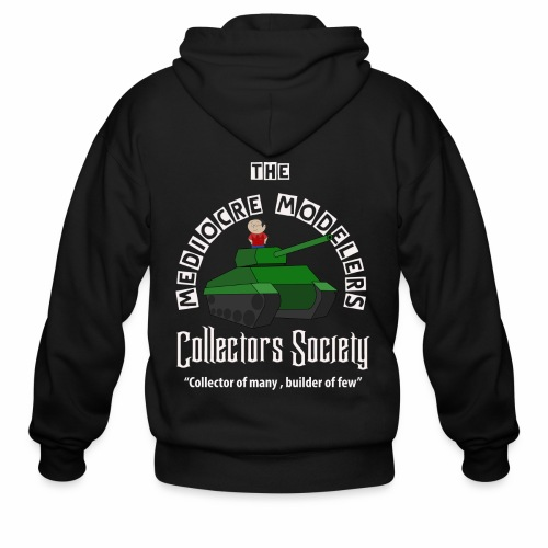Mediocre Modelers Collectors society Zip up Hoody - Men's Zip Hoodie