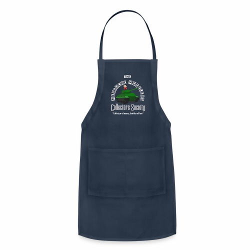 Mediocre Modelers Collectors society  Model Building Apron - Adjustable Apron