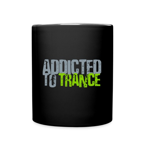 Addicted to trance cup.  - Full Color Mug
