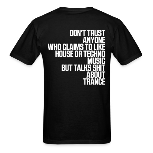 Talla 2XLC - don´t trust shirt - Men's T-Shirt