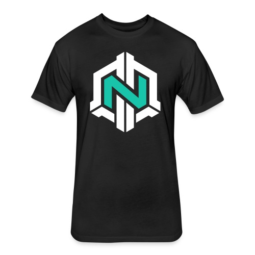 SouljiahXD -  Fitted Cotton/Poly T-Shirt by Next Level Black No Mission - Fitted Cotton/Poly T-Shirt by Next Level