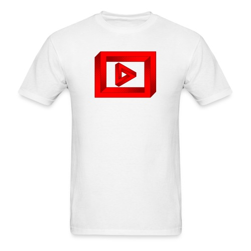 Impossible Play Button - Men's T-Shirt
