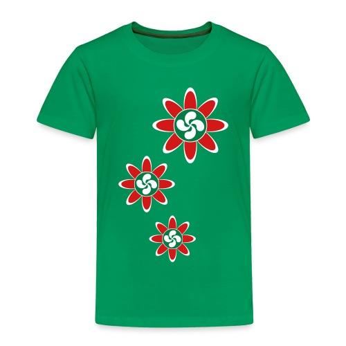 Basque country flower - Toddler Premium T-Shirt