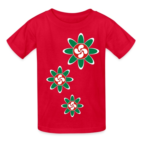 Basque country flower - Kids' T-Shirt