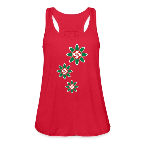 Basque country flower - Women's Flowy Tank Top by Bella