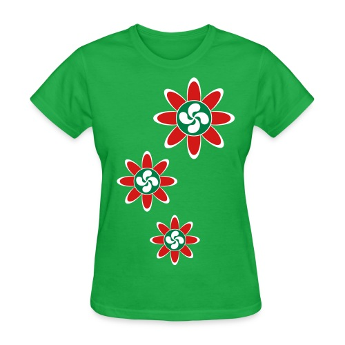 Basque country flower - Women's T-Shirt
