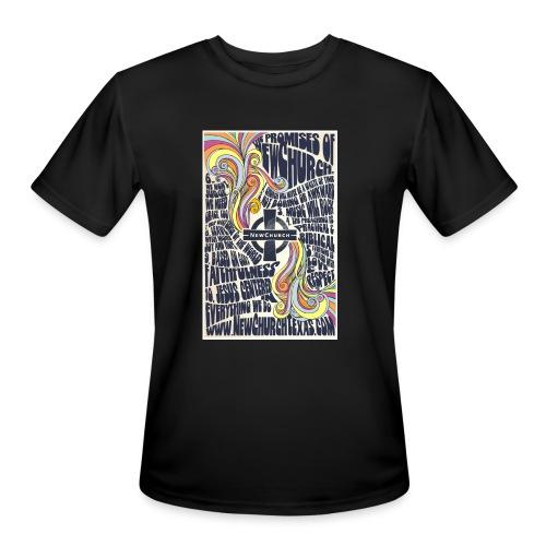Promises Retro Wicking - Men's Moisture Wicking Performance T-Shirt