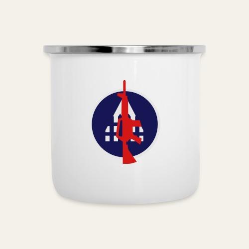 Backyard Battlefield Mug - Camper Mug