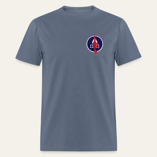 Backyard Battlefield T-Shirt - Men's T-Shirt